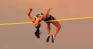 female high jumper