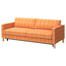 Couches With Beds Inside Karlstad Sofa Bed Husie Orange Ikea Fun Couch With Washable