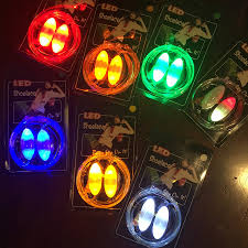 colorful led flash light up shoe laces party disco shoes strap glow stick shoelaces boys girls multicolor shoe strings in glow party supplies from home