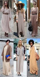 How To Wear Neutral Shades Maxi Dresses For Summer Blue Is In