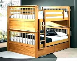 wood bunk bed with desk full size bed over futon wood bunk beds plans double loft