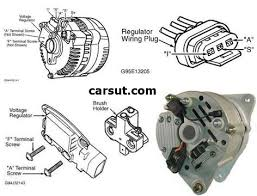 nissan alternator wiring diagram wiring diagram and schematic design ford alternator wiring diagrams carsut understand cars and
