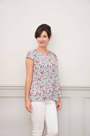 Top Patterns New Sew Over It Lily Top PDF Sewing Pattern Sew Over It Online Fabric