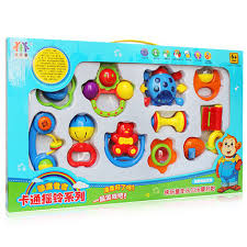newborn baby toys 0 1 ten year old male and female baby rattles