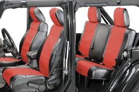 coverking front rear leatherette seat covers for 2002 jeep wrangler tj quadratec