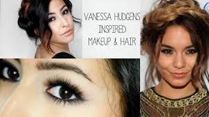 vanessa hudgens inspired makeup hair misstiffanykaee you