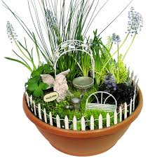 echo valley quality home and garden products mini enchanted gardens fairy garden accessory kit