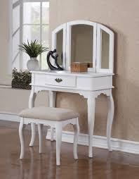 Bedroom:Impressive Furniture For Girl Bedroom Design Using White Wood Makeup  Vanity Stool Impressive Furniture