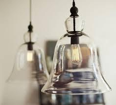 pendant glass lighting. Rustic Glass Pendant - Large Lighting