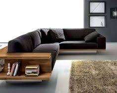 modern l sofas. Brilliant Sofas Living Rooms  Minimalist Room With L Shaped Black Sofa Feat Book  Storages Near Fluffy Rug Furniture Ideas Modern Designs  In Sofas P