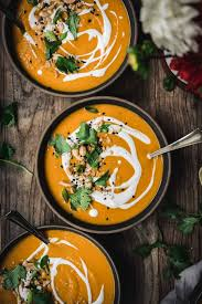This coconut curry lentil soup is fragrant with just the right amount of spice. Coconut Curry Butternut Squash Soup Vegan Crowded Kitchen