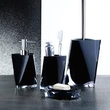 black bathroom accessories. Modren Black Black Bathroom Set With Black Bathroom Accessories