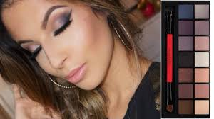 night out smokey eyes smashbox double exposure palette makeup tutorial you