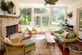 Indoor Sunroom Furniture Wicker Furniture New Interiors Design For