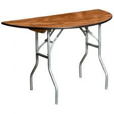 table half round 4ft