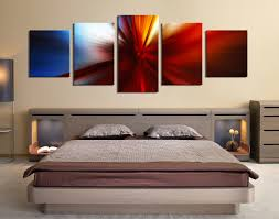 5 piece wall art red modern wall decor bedroom large pictures abstract huge on modern canvas wall art abstract with 5 piece group canvas red multi panel canvas panoramic canvas wall