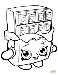 Just Arrived Shopkin Coloring Pages Lovely Decoration For Kids