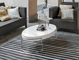 target point us modern coffee table in white or wenge thumbnail