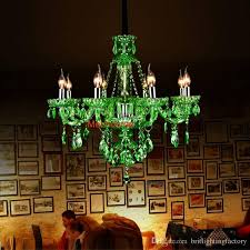 awesome modern living room bar crystal chandeliers european green crystal for how to make mason