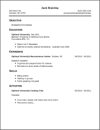 Undergraduate Resume Format Fresh Resume Examples For Bpo Jobs