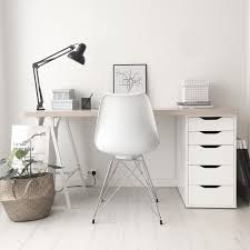 White work desk Writing Desk Perfection At Its Finest White Desk Space Work Area Computer Table Home Inspiration House Living Space Room Scandinavian Nordic Inviting Style Pinterest Perfection At Its Finest White Desk Space Work Area Computer