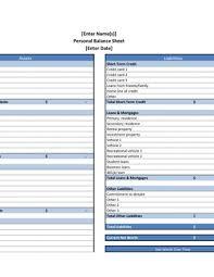 Sample Personal Balance Sheet Balance Sheet Archives Page 2 Of 2 Pdfsimpli
