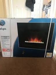 new boxed blyss wall mounted glass panel heater 2000w 9628p