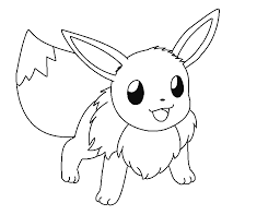 Small Picture Printable Pokemon Coloring Pages Eevee Evolutions 3272 Pokemon