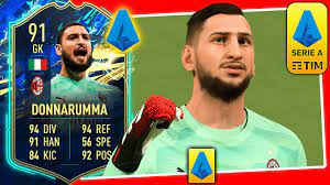 91 TOTS DONNARUMMA PLAYER REVIEW ...