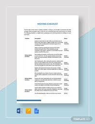 Move Checklist Template Free 13 Moving Checklist Examples In Pdf Google Docs