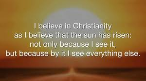 Cs Lewis Quotes Christianity Best of CSLewis Quotes I Believe In Christianity YouTube