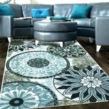 turquoise rug 8x10 area s rugs cabana geometric turquoise rug 8x10