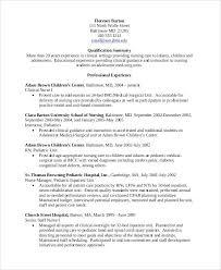 Nursing Resume Examples Student Nursing Resume Lpn Nursing Home
