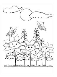 Tranh tô màu vườn hoa - Tettrungthukingdom