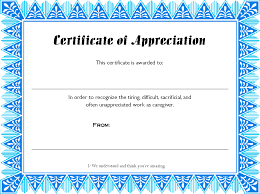 Printable Appreciation Certificates Paper Printable Printable Certificate Template Certificate