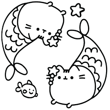 Kitty Coloring Pages Hello Printable Cat Fat Mebelmag