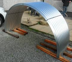 brand new galvanised steel corrugated curved roofing sheets pig arks modern