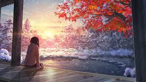 Anime Girl Landscape Wallpapers ...