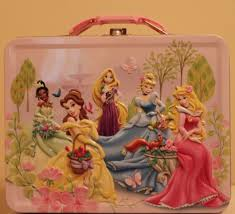 Small Picture Disney Princess Animal Friends Embossed Metal Lunch Box with Free