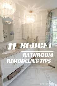 renovations budget bathroom renovations