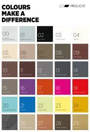 25 5 Unique Colours Prolicht Core Competence