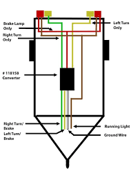 wiring diagram 4 wire trailer diagram 4 flat trailer wiring 5 to 4 wire tail light converter brake lamp only rigth left turn converter cable colour 4 wire trailer diagram in the side