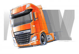 exclusive daf xf design story car