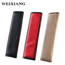 car seat shoulder strap covers 2 x leather belt pad for s pads infant