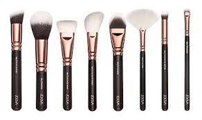 12 8 15pcs plete zoeva make up brush set bag makeup brushes rose golden