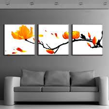 aliexpresscom  buy  pcsset modern wall paintings framed flower