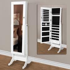mirror jewellery armoire