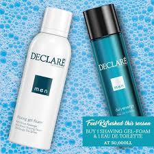 <b>Declare Shaving Gel-Foam</b> for Men + Eau De Toilette Offer | feel22 ...