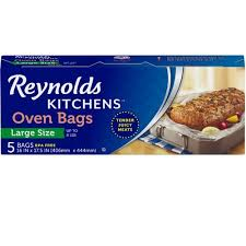 Reynolds Cooking Bag Time Chart Reynolds Kitchens Large Oven Bags 16x17 5 Inch 12 Packs Of 5 Count