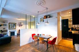 contemporary studio apartment design. Paris Studio Apartment Merges Classic Contemporary With Minimalism Design C